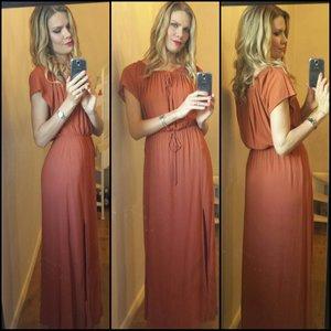 Love this orange dress from HM ??