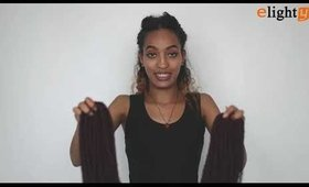 goddess braids | goddess faux locs crochet hair show (4 colors)
