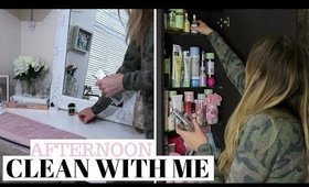 RAINY AFTERNOON CLEAN WITH ME UK | CLEANING MOTIVATION