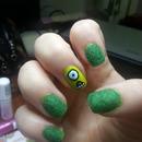 Fluffy Monster Inc. Nails