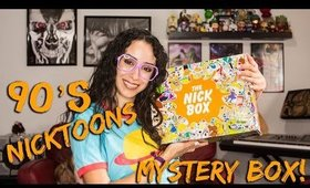 What's Inside the Nickbox?! Nickelodeon's 90's Subscription Box!