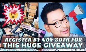 $2000 HOLIDAY MAKEUP GIVEAWAY!!! Register today! | mathias4makeup