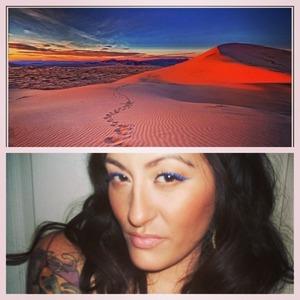 My Cali desert look!