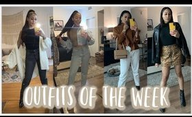 My Outfits Of The Week | 01