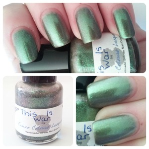 Full Review & Swatches on my blog! http://www.hairsprayandhighheels.net/2013/01/franken-friday-cameo-colours-lacquers.html