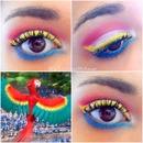 When Rio 2 gives me ideas makeup