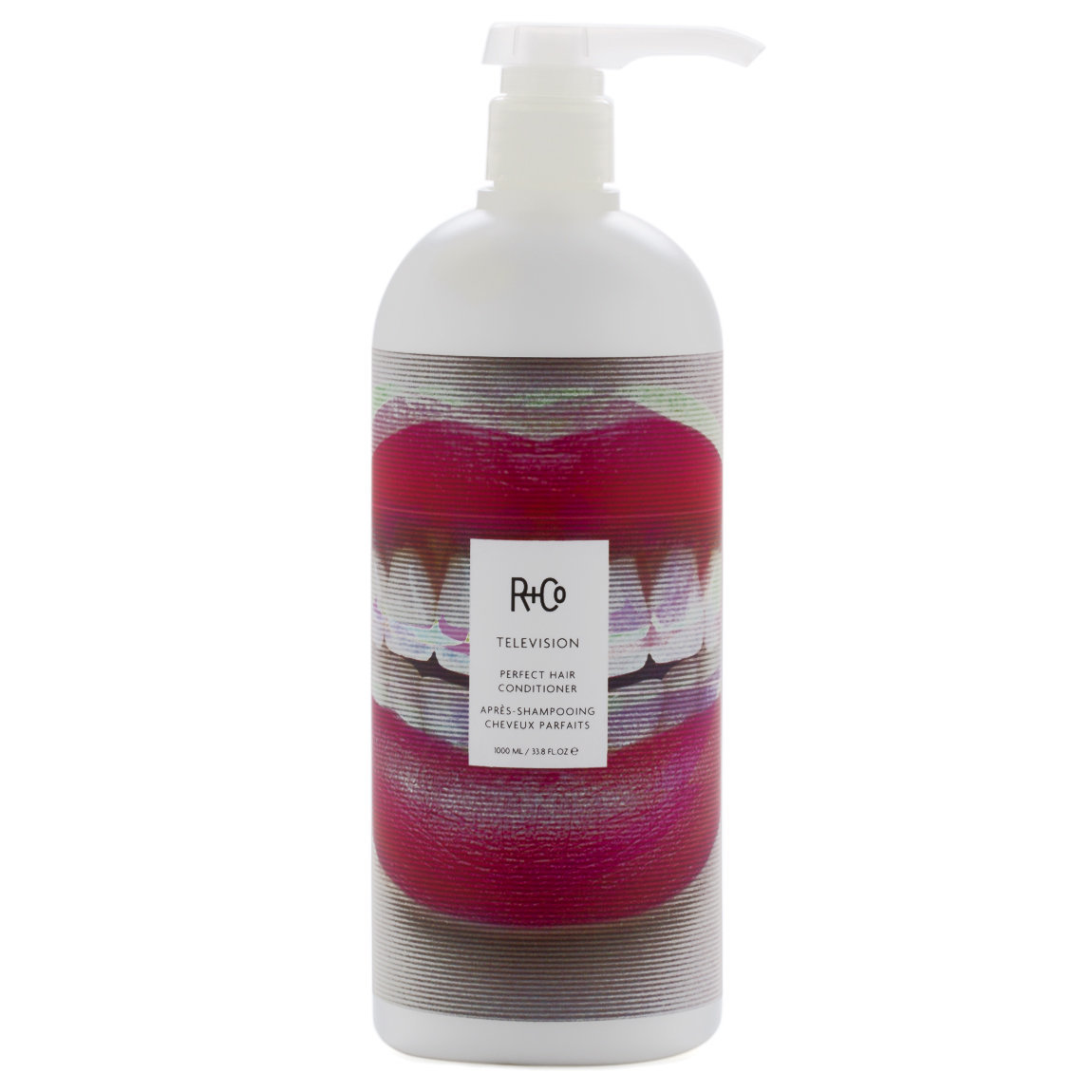 R+Co Television Perfect Hair Conditioner 1 L alternative view 1 - product swatch.