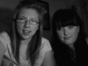 Me and a friend (im the black head one ;))