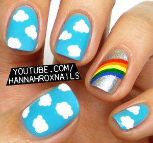 Inspired by the Degen F/W 2014 show at NYFW! Tutorial at http://youtube.com/hannahroxnails :)