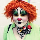 Clown Make-up Look