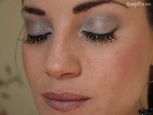Sparkling eyelashes