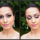 Dramatic Bridal Look