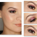 Pink & Brown MakeUP