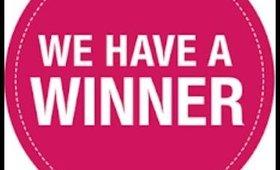 The winner is!!!!