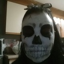 Skeleton Face Make-Up