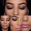 Copper Eyes And Pink Lips