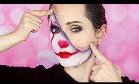 PENNYWISE the CLOWN - IT MOVIE - HALLOWEEN MAKEUP TUTORIAL / HalloweenXTRA 30 (2017)