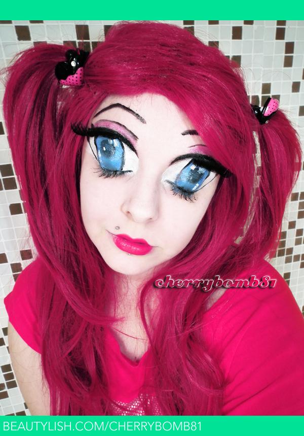 Anime Doll Makeup Look | Cherry C.'s (cherrybomb81) Photo ...