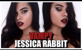 VAMPY JESSICA RABBIT Inspired Makeup Look