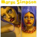 Marge Simpson Inspired Look // Hannabal Marie