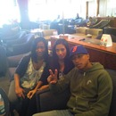 When I use to work in JFK airport met Pharell,me and my best friend/sister .