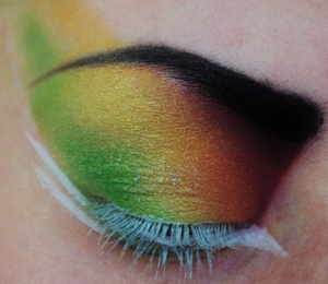 Tropical Bird!  Like me on Facebook! http://www.facebook.com/pages/Makeup-Is-Art/455624517797347