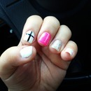 nail polish with cross