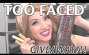 Congrats to our TOO FACED WINNERS!!!