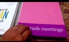 Customizing an Erin Condren Simple Notebook for a Kindergarten Teacher!
