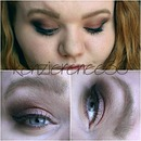 Copper and Maroon Eye look!!!