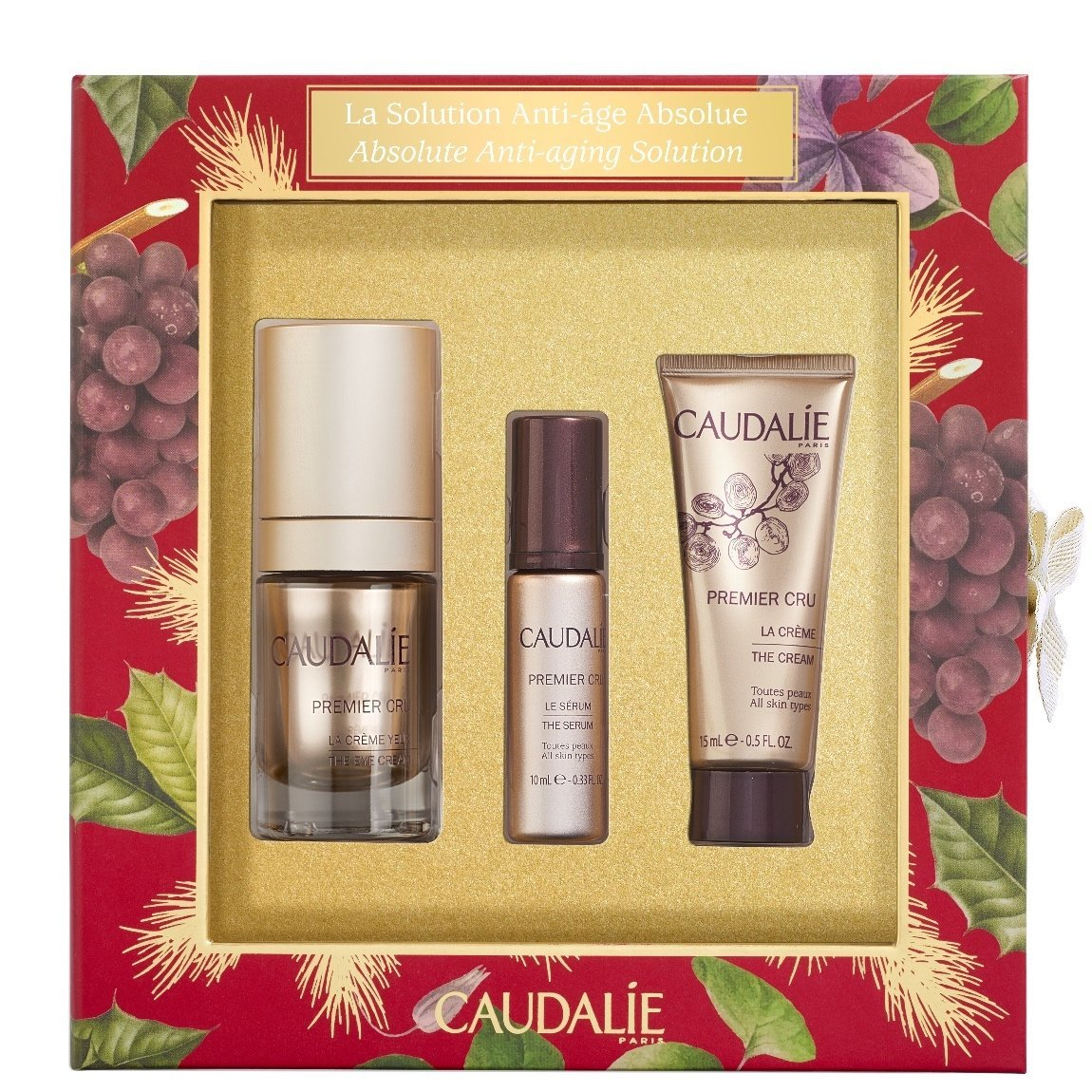 Caudalie Premier Cru Absolute Anti-Aging Solution Set product swatch.