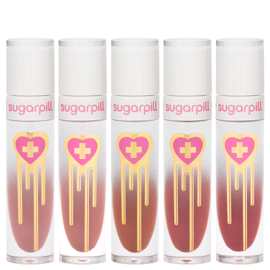 Sugarpill Cosmetics High Tea Liquid Lip Color Collection product swatch.