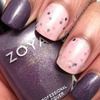 Zoya Neeka and Neener Neener Nails Peek-A-Boo