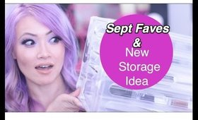 New Storage Idea and Sept Favorites