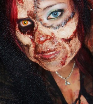 this is what i did for the zombie walk in san antonio