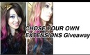 Win Hair Extensions.. any ONE You WANT :D      OMBRE DIY?
