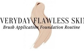 Everyday Flawless Skin: Brush Application Foundation Routine