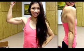 My At Home Arm Workout for Lean, Toned Arms