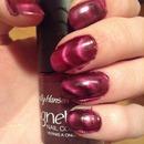 Violet wave nails