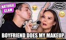 BOYFRIEND DOES MY MAKEUP | Maryam Maquillage