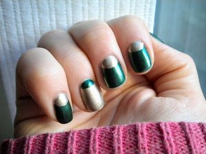 Barielle Date Night and Sally Hansen Complete Salon Manicure in Gilty Pleasure