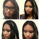Fooling around w/ eyeliner