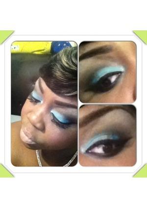 This look was inspired by makeup artist Makeupbynaya
