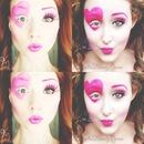 Valentine's makeup!