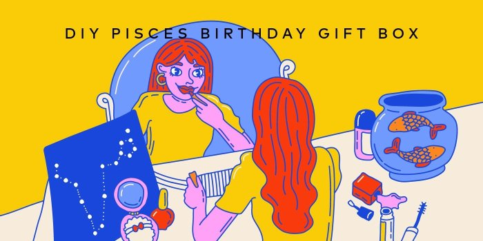 DIY Birthday Gift Box for the Pisces in Your Life