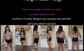 Quick Vlog on Weight loss update! Join me on my journey!