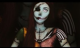 Sally Skellington: Full Makeup Tutorial