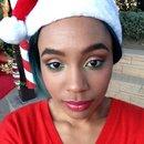 Christmas inspired makeup