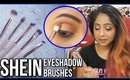 First Impressions: SHEIN Brushes Review & Demo | Stacey Castanha