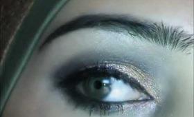 Asian bridal eye makeup look